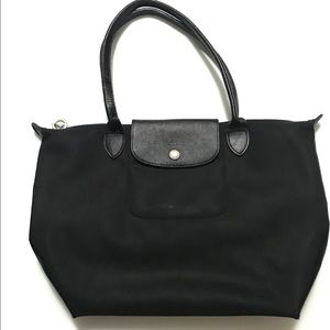 LONGCHAMO LE PLIAGE BLACK MINI BAG